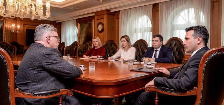 Средба Заев – Стафансон: Шведска ја поддржува евро-атлантската иднина на Македонија