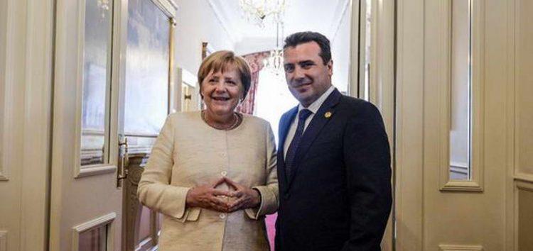 Писмо од Меркел до Заев: Пратениците имаат историска шанса да го продолжат процесот за членство на вашата земја во ЕУ и НАТО