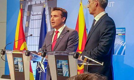 Премиерот Заев ја прими поканата од Генералниот секретар на НАТО, Столтенберг