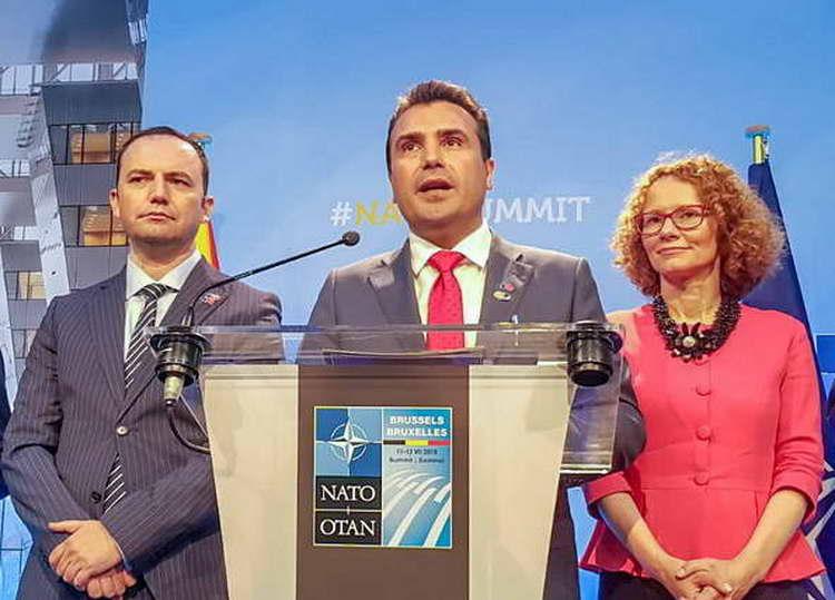 Заев: Одиме напред, Македонија влегува во НАТО и чекори кон ЕУ!