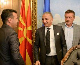 """Менаџментот на компанијата """"Елсеведи електрик"""" на средба со премиерот Заев"""