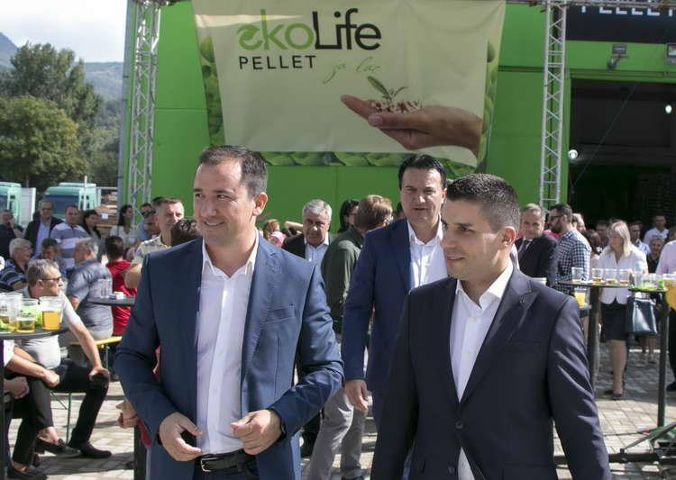 Во општина Ранковце се отвори првата домашна фабрика за производство на пелети за огрев, вредна 3 милиони евра