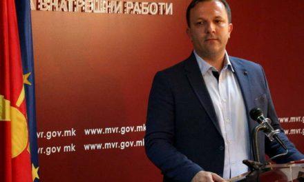 Одложена седницата за интерпелација на министерот за внатрешни работи Спасовски