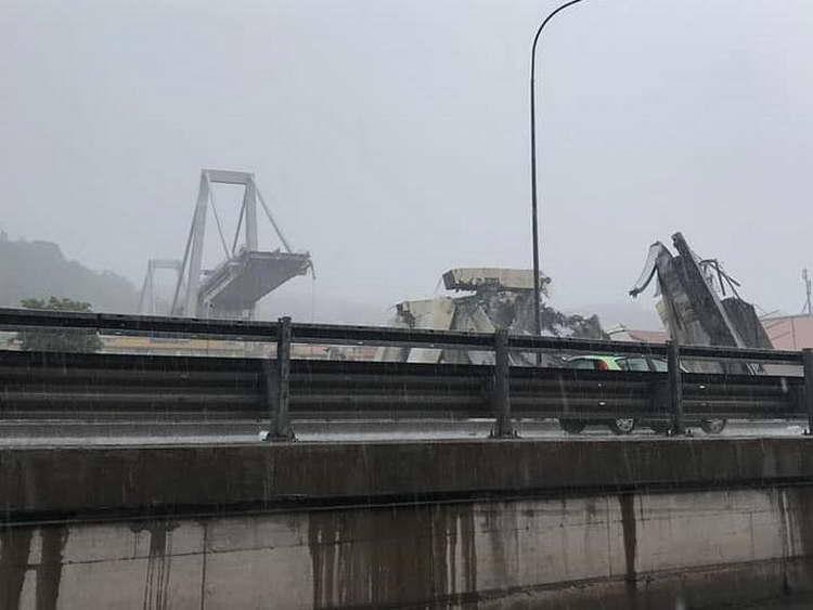 Бројот на жртви при уривањето на мостот во Џенова се зголеми на 22 лица
