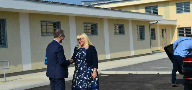 """Дескоска ги претстави новите објекти во затворот """"Идризово"""""""