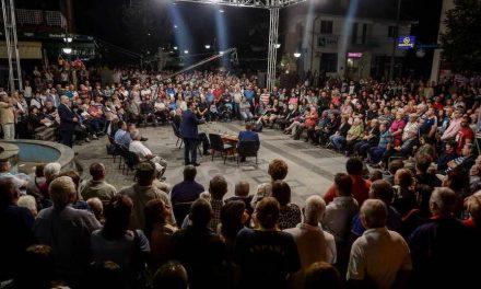 Премиерот Заев од Берово: 260.000 евра добива Македонија како помош од ЕУ
