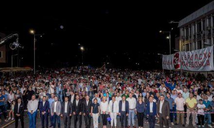 Премиерот Заев од Штип: На референдумот ја заокружуваме нашата одлука за европска Македонија