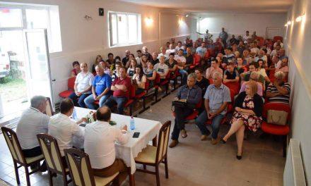 Филипче во Новаци: Заедно да донесеме вистинска одлука на референдумот ЗА европска Македонија