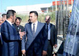 """Премиерот Заев на отпочнувањето со градба на """"Гарден Ресиденс Ин"""""""