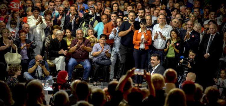Заев на трибината во Кичево: Пред нас е историска одлука за нашата земја, гласот на граѓаните е конечен