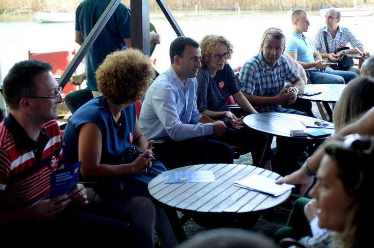Шекеринска во Струга: На 30 септември имаме шанса за европска иднина