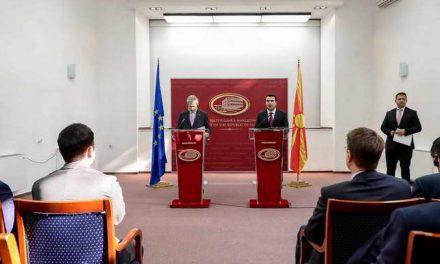 Хан: Граѓаните на Република Македонија никогаш не се чувствувале подобредојдени во Европската Унија отколку сега