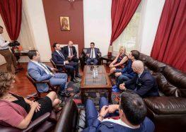 средба со Форумот за демократска Македонија (ФДМ) во Вашингтон