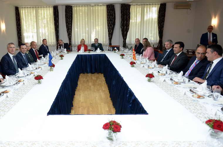 Заев и Столтенберг: Блиску е денот кога Република Македонија ќе биде земја членка на НАТО сојузот