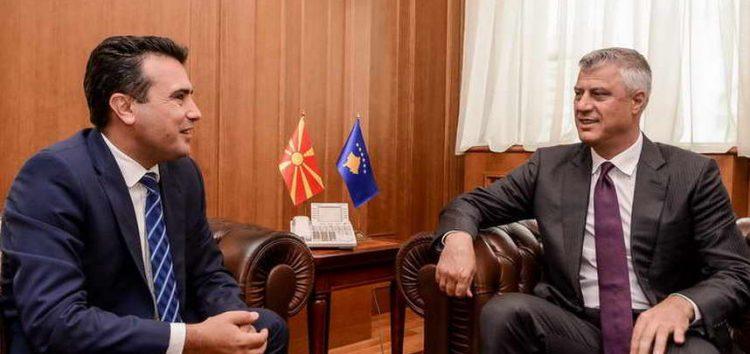 Средба Заев-Тачи: Одржлив мир, економски развој, регионална соработка и членство во ЕУ е заедничка цел на лидерите од регионот