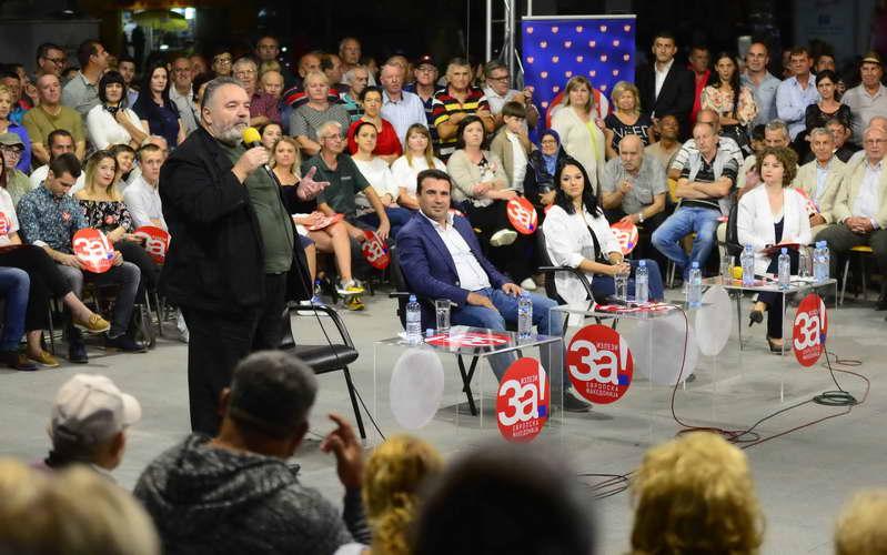 Заев од Кавадарци: Излезете на гласање и донесете вистинска одлука за вашите деца и за својата Македонија