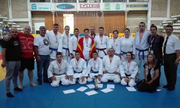 """Успешен настап на џудистите на """"Сеишин"""" на Балканското првенство во Кавадарци"""