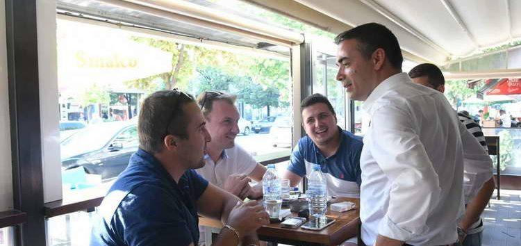Димитров во Кавадарци: Европската иднина на младите е во нивни раце