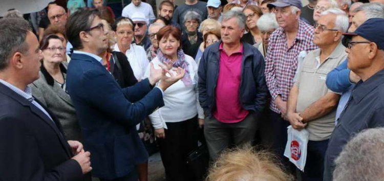 Пендаровски со граѓаните на општина Аеродром: Време е за одлука, да изградиме држава по европски стандарди