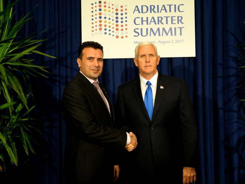 Заев во Вашингтон на средба со Пенс