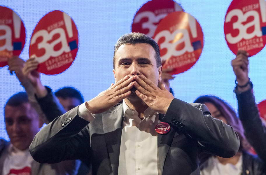 Премиерот Заев од Прилеп: Ајде и нашата генерација да ја пишува во книгите дека се одважила и донела вистинска одлука, масовно, За европска Македонија