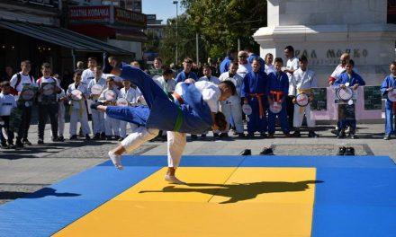 Во рамки на европската недела на спортот, во Прилеп одржана презентација на џудото