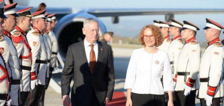Матис пристигна во Скопје поради можното руско мешање во референдумот