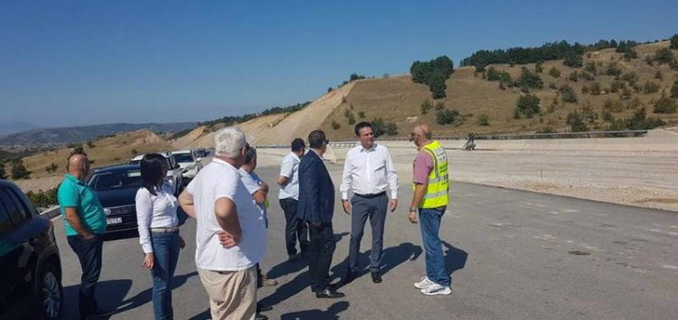 Сугарески: Автопатот Миладиновци-Штип ќе биде завршен до средината на октомври