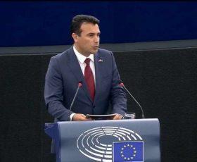 Ова ќе биде референдум за втора независност, рече Заев во Европскиот парламент