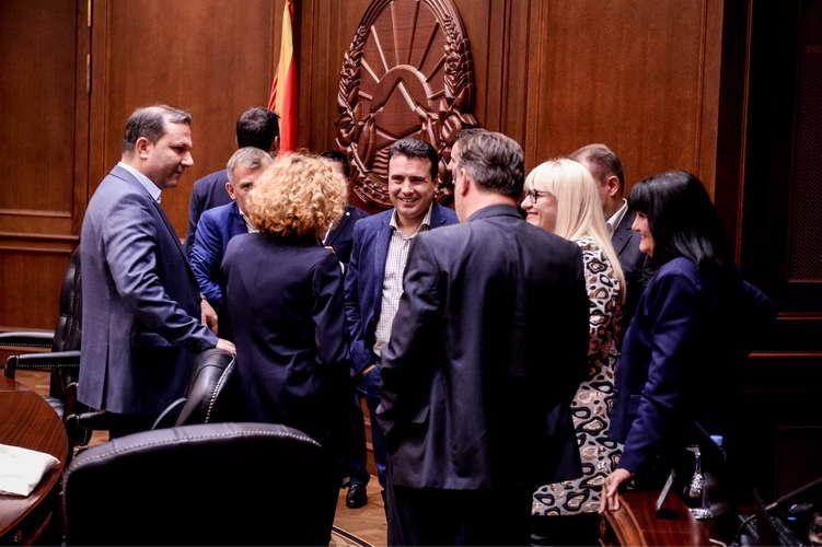 Владата донесе одлука да достави Предлог за ребаланс на Буџетот за 2018 година до Собранието на Република Македонија