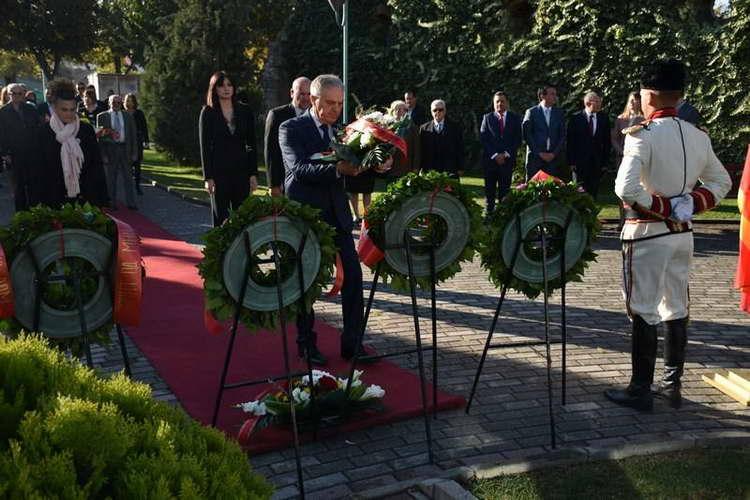 Чествувања во чест на 11.Октомври: Македонскиот народ секогаш бил на вистинската страна на историјата