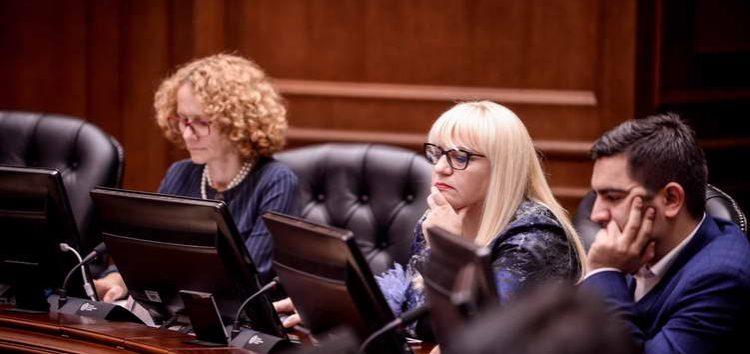 Владата до Собранието го достави предлогот за измени на Уставот