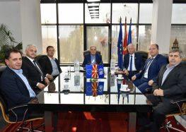 Средба на градоначалникот Јованоски и Гувернерот на словенечкиот Ротари клуб, Јанез Липец