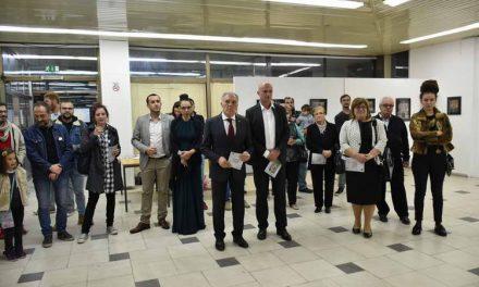 """Во ЦК """"Марко Цепенков"""" отворена изложба на фотографии од фрескосликарството на црквата во Курбиново"""