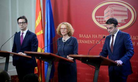 Шекеринска, Димитров и Пендаровски: Почнуваат завршните преговори за членство во сојузот на најсилните земји во светот
