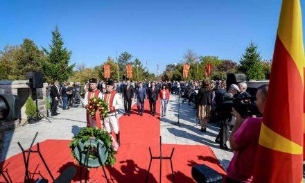 Премиерот Заев на одбележување на 11-ти Октомври во Куманово