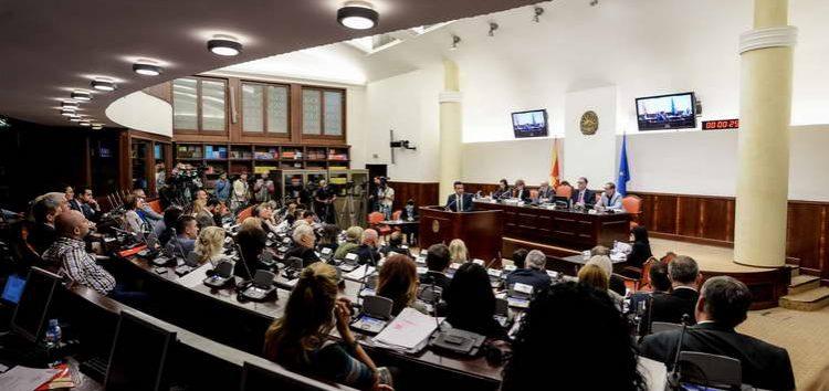 Заев до пратениците: НАТО и ЕУ не' обединуваат во во политичка, етничка и религиска смисла