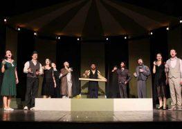 """Прилепскиот театар синоќа премиерно ја изведе претставата """"Казимир и Каролина"""""""