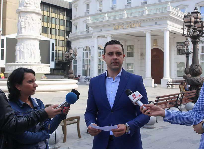 Костадинов: Раководството на ВМРО-ДПМНЕ да докаже дали е за ЕУ и НАТО или за амнестија на Груевски
