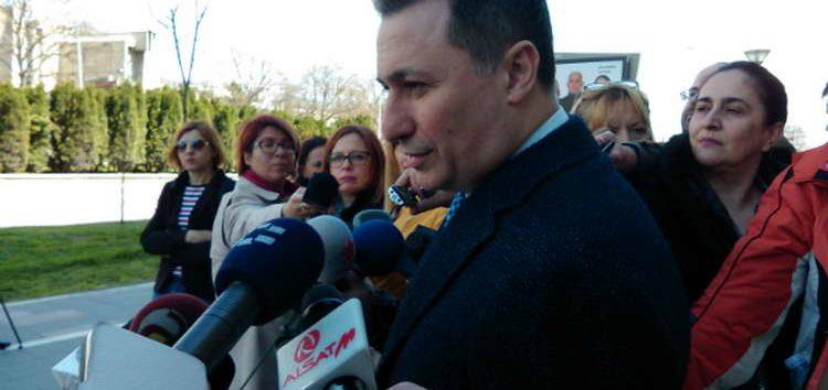 Груевски по одлуката на Апелација: Нема да гласам за уставни промени