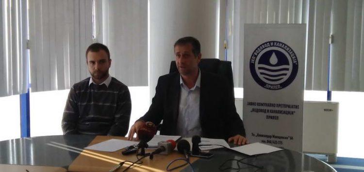 Јанески: ВМРО-ДПМНЕ ја манипулира јавноста, Договорот за изградба на пречистителна станица е потпишан во време на владеење на ВМРО-ДПМНЕ