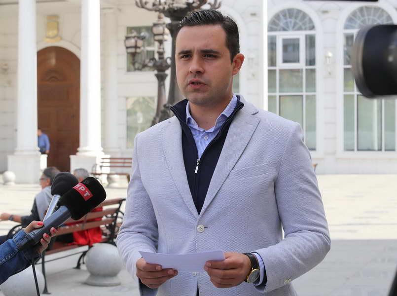 СДСМ: Мицкоски и врвот на ВМРО-ДПМНЕ треба да покажат дали се за НАТО и ЕУ или против!