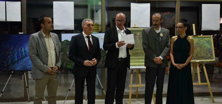 Изложба на слики и скулптури на Центарот за современа ликовна уметност