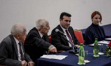 Заев на дебата во Сојузот на борци: Пред македонското знаме во НАТО ќе стоиме гордо