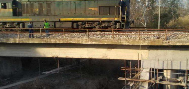 Железничкиот сообраќај Табановце – Гевгелија се одвива непречено, саниран дефектот на бетонскиот мост на Црна Река