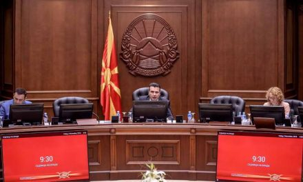 Владата расправаше за амандманите на Уставот, автопатот Кичево-Охрид и донесување на Законот за спречување на корупција и судир на интереси