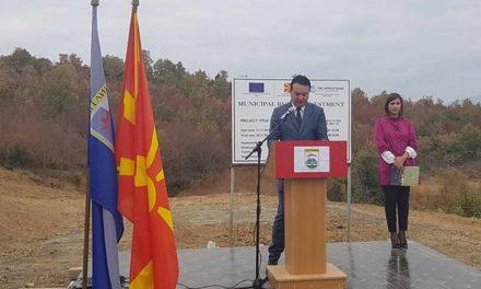 Сугарески: Системот за водоснабдување го решава деценискиот проблем на граѓаните на Гевгелија