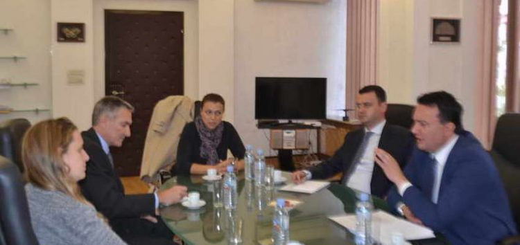 Средба на министерот Сугарески со амбасадорот на Велика Британија, Рејчел Галовеј