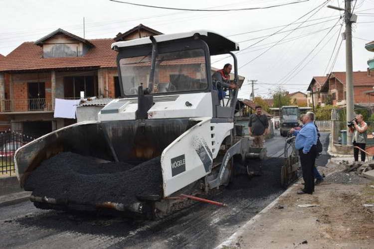 """Се асфалтира улицата """"Ладо Лапецо"""""""
