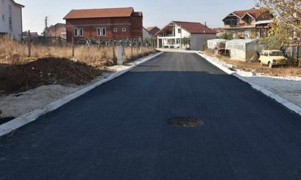 Општина Прилеп продолжува со континуирано асфалтирање на улиците во градот